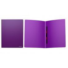 Папка скоросшиватель А4 CLASSIC фиолетовая