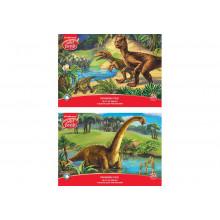 Альбом 20л А4 Эра динозавров ArtBerry клеевое скреп.