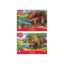 Альбом 20л А4 Эра динозавров 2, ArtBerry клеевое скреп.
