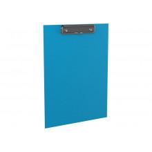 Планшет А4  Neon мет.зажим голубой