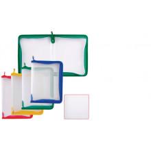 Папка на молнии  B5 круговой Zip Folder 0,50мм