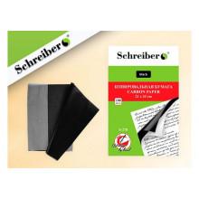 Бумага копир. А4 100л черный, S-278, Schreiber