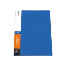 Дисплей книга 20ф LAMARK 0,60мм синяя