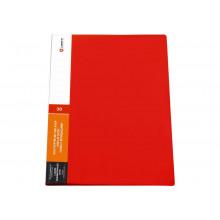 Дисплей книга 30ф LAMARK 0,60мм красная