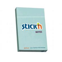 Бумага клейкая 51*76 паст.голубой.100л. 70г/м2