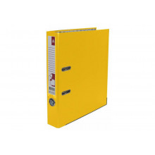 Сегрегатор 50мм Бюрократ, смен. карман, желтый BRT50PVC/PAPYEL