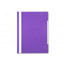 Папка скоросшиватель А4 Бюрократ, фиолетовый 0,12/0,16 PS20VIO