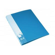 Папка зажим А4 Бюрократ, синий PZ07CBLUE