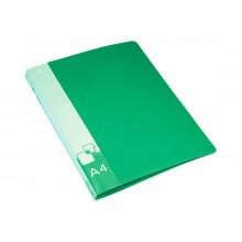 Папка зажим А4 Бюрократ, зеленый PZ07CGREEN