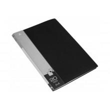 Дисплей книга А4 20ф Бюрократ 0,6мм черный BPV20BLACK