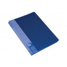 Дисплей книга А4 40ф Бюрократ 0,65мм синий BPV40BLUE