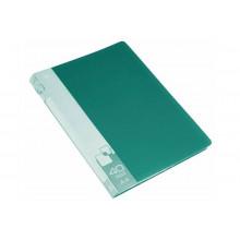 Дисплей книга А4 40ф Бюрократ 0,65мм зеленый BPV40GRN