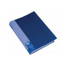 Дисплей книга А4 60ф Бюрократ 0,7мм синий BPV60BLUE