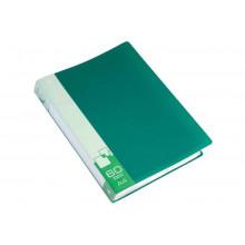 Дисплей книга А4 60ф Бюрократ 0,7мм зеленый BPV60GRN