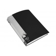 Дисплей книга А4 80ф Бюрократ 0,8мм черный BPV80BLCK
