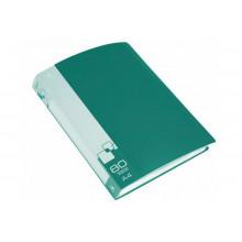 Дисплей книга А4 80ф Бюрократ 0,8мм зеленый BPV80GRN