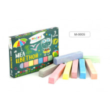 Мел цветной  9 шт. карт.коробка MAZARI