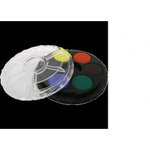 Краски 6цв акварель KIN б/кисточки