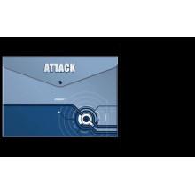 "Папка на кнопке А4 ""Proff.Attack"" 0.18мм"
