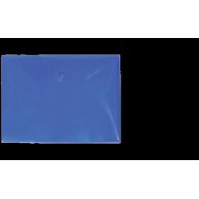 "Папка на кнопке А4 ""Clear Bag Proff"" 0.20мм матовая синяя"