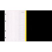 """Сменный блок д/тетрадей на кольцах """"Proff"""" А5 80л.в одной пачке несколько цветов"""