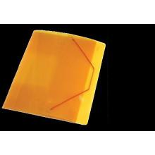 """Папка на резинке А4 40мм  """"Proff.Next"""" желт."""