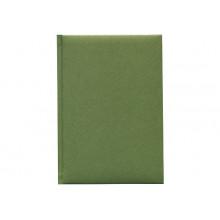 Ежедневник А5 160л.ШАЙН зеленый,кожзам