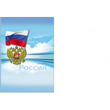 Книга учета А4 196л. РОССИЯ  тв. пер.