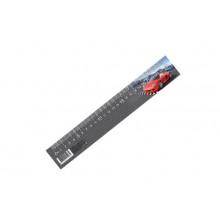 Закладка-линейка 25 см(100), АВТОМИР  2016.ЗЛ-25-А