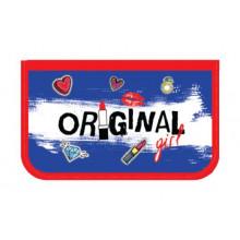 Пенал двухсекц.большой 190/120 ПО-05 ORIGINAL GIRL 2018