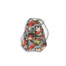 Сумка для обуви с  рисунком RASING CAR СДС-11