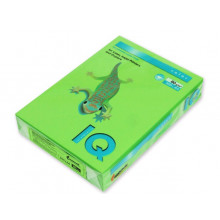 """Бумага """"IQ CoIor Intensive""""  А4 80г 500л ярко- зелен."""