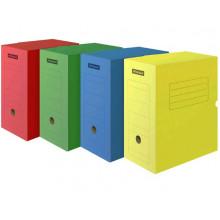 Архивный короб 320*250*150 мм с клапаном , до 1400л микрогофрокартон ассорти Office Space