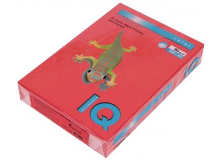 "Бумага ""IQ CoIor Intensive""  А4 80г 500л кораллово-красный, CO44"