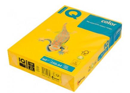 "Бумага ""IQ CoIor Intensive""  А4 160г 250л ярко-желтый, IG50"
