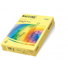Бумага Maestro Color pale А4 п80 500л. желтый YE23