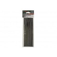 """Клей термо """" Tundra basic"""" D 11*200 мм, (6шт) черные, ковролин/кожа"""