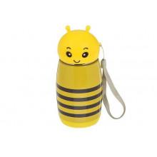 "Кружка-термос 280мл ""Пчелка"" 7*16,5см"