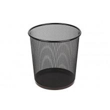 Урна сетка металл черная, 12л