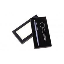 Набор подарочный 2 в 1 (ручка+брелок-плоскогубцы)металлик в коробке 17*9см металл.пластик