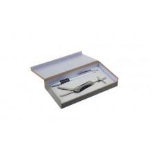 Набор подарочный  2 в1(ручка+нож) дерев. футляр