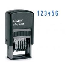 Нумератор-мини 4836 PRINTY .6 разрядов.3.8мм