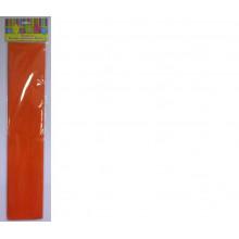 Бумага Креп оранжевая 22г/м2 50*250 см 1 лист Феникс