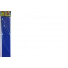 Бумага Креп синяя 22г/м2 50*250 см 1 лист Феникс