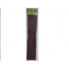 Бумага Креп коричневая 22г/м2 50*250 см Феникс