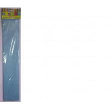 Бумага Креп перламутр голубая 22г/м2 50*250 см 1 лист Феникс