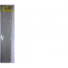 Бумага Креп серебро 22г/м2 50*250 см 1 лист Феникс