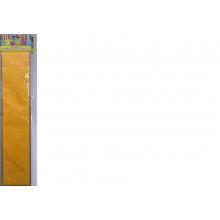 Бумага Креп св.-оранжевая 22г/м2 50*250 см 1 лист Феникс