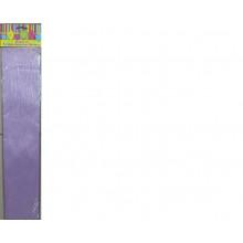 Бумага Креп перламутр сиреневая 22г/м2 50*250 см 1 лист Феникс