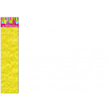 Бумага Креп эластичн. желтая 30г/м2 50*250 см  1лист Феникс